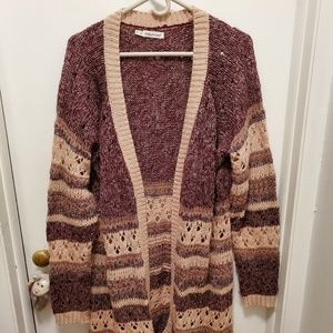 Maurices long cardigan sweater.